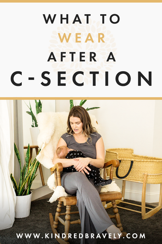 what to wear after c-section