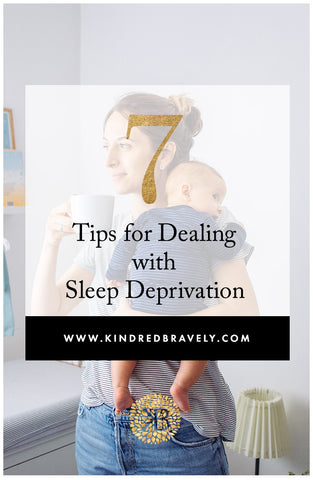 tips for dealing with sleep deprivation, no sleep after baby