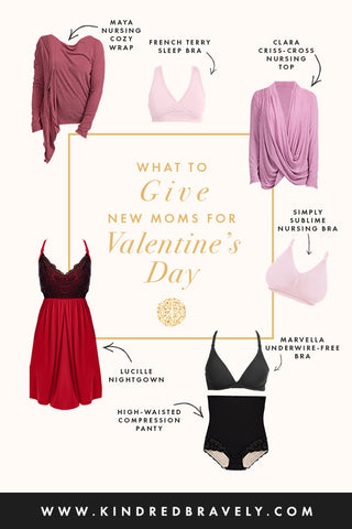 Valentine's Day gift ideas for pregnant and nursing moms