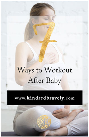 working out with baby, exercising after baby