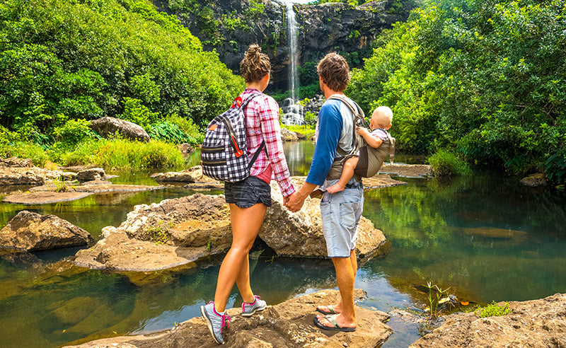 Get outdoors with family