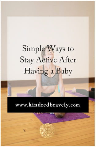simple ways to exercise with a baby, how to work out after baby