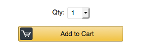 "Amazon ""Add to cart"" button looks like this"