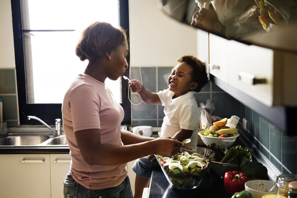 healthy food habits, cooking with your baby