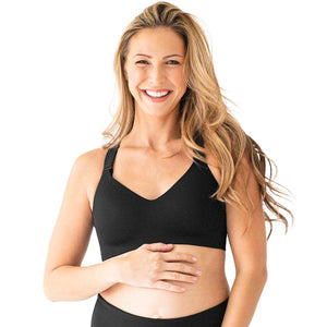 High Support Maternity & Postpartum Sports Bra | Black