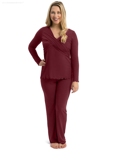 89429f1784cf7 Kindred Bravely Davy Ultra Soft Maternity   Nursing Pyjamas Sleepwear Set