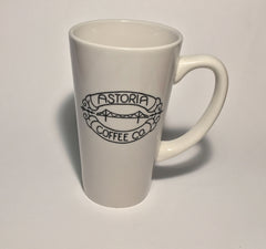 Topeka Mug: Astoria Coffee Company: White