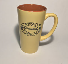 Topeka Mug: Astoria Coffee Company: Yellow