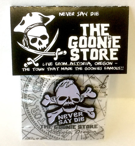 Enamel pin NEVER SAY DIE