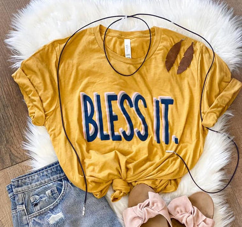 *SALE* Bless It - Graphic Tee
