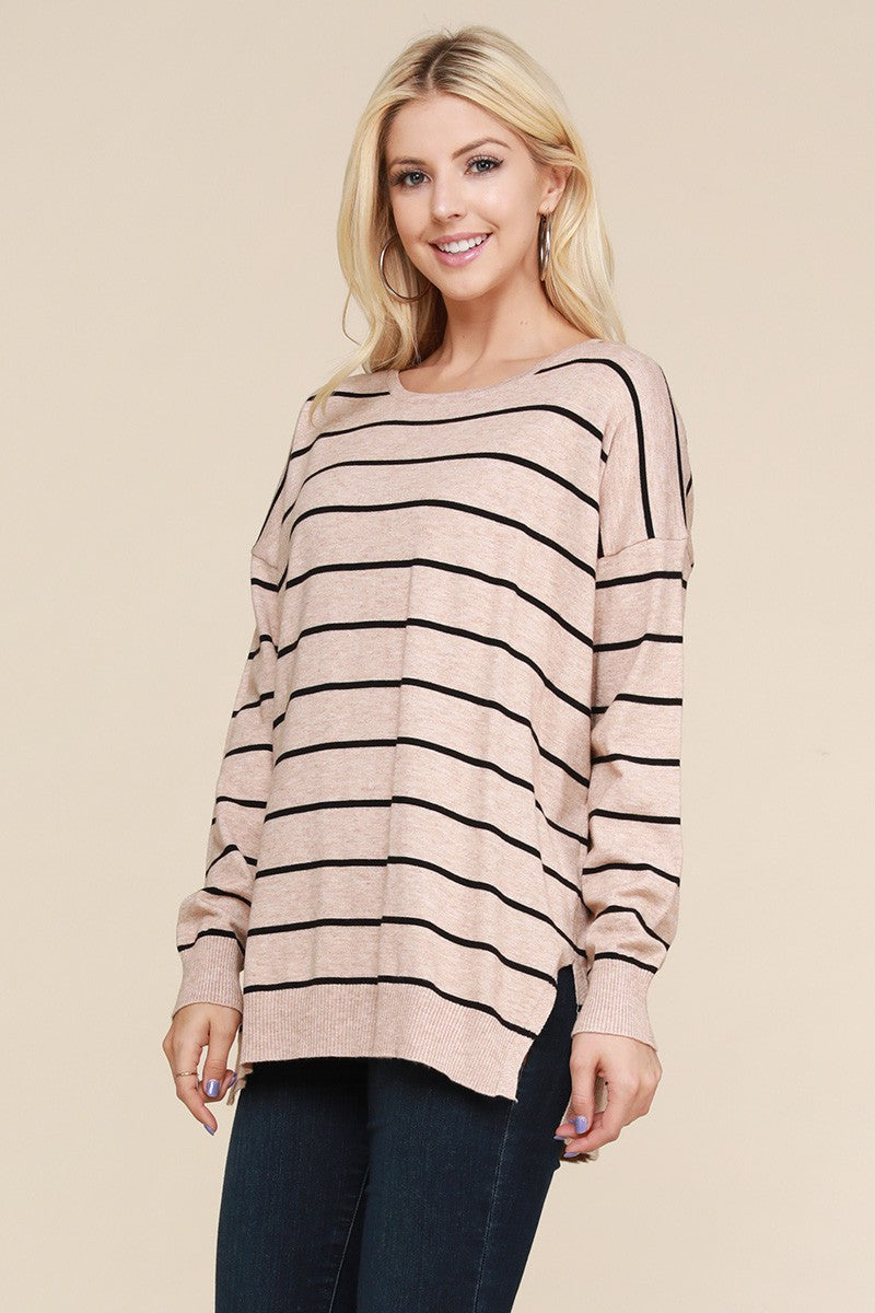 Make A Mark Stripe - Top