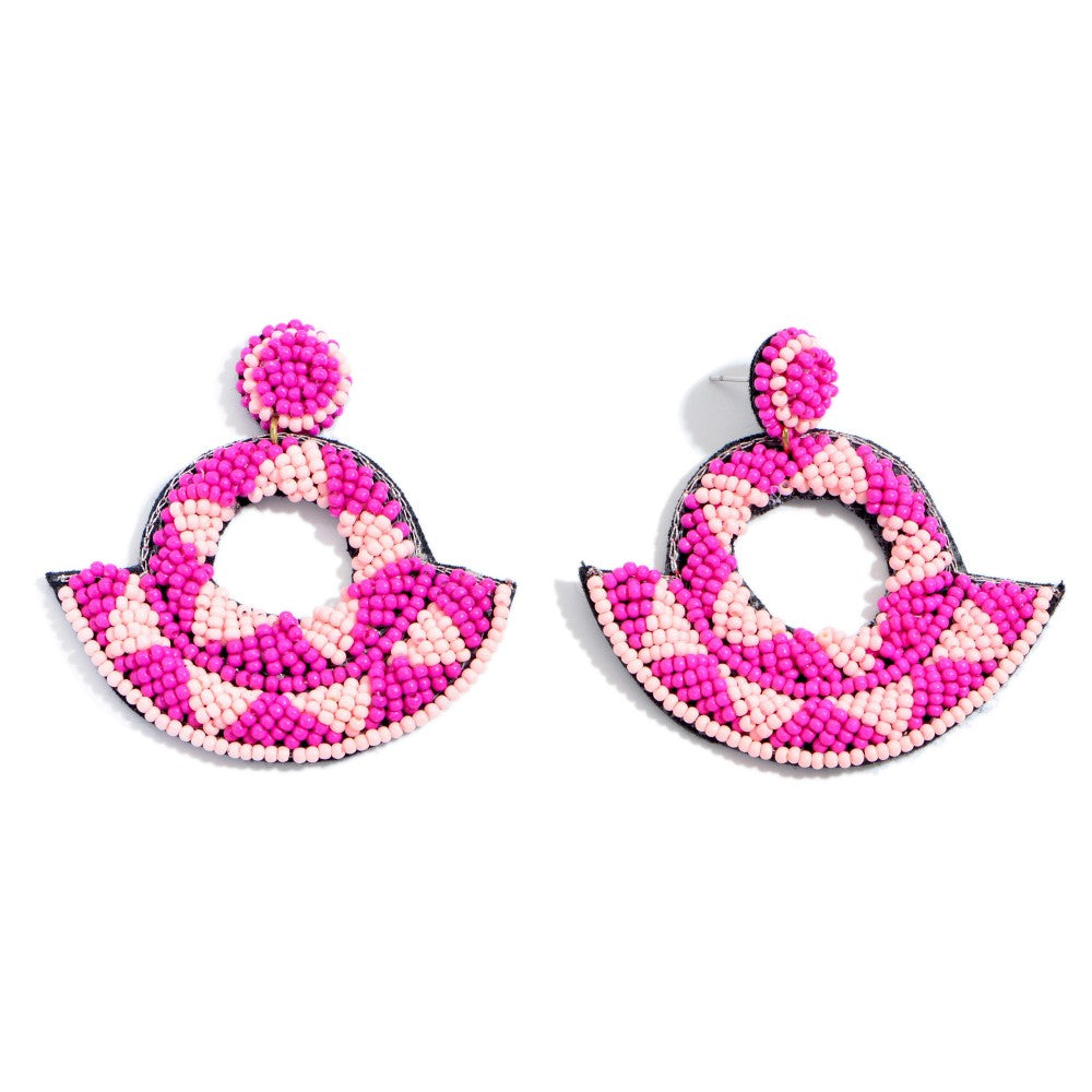 Arden Beaded Statement Earrings