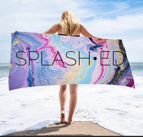 *SALE* Geode Microfiber Beach Towels