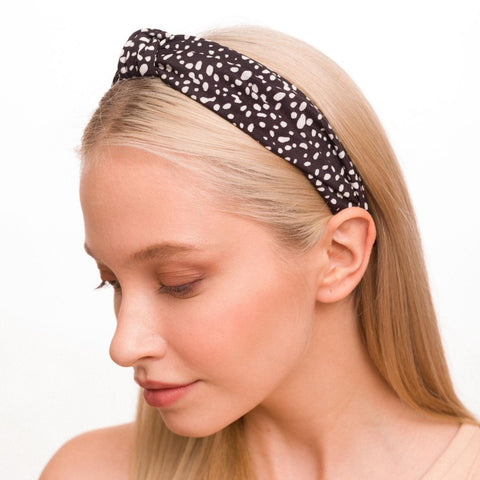 Kenley Spotted Print Headband