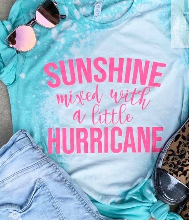Sunshine Mixed with Hurricane Bleached - Graphic T-Shirt