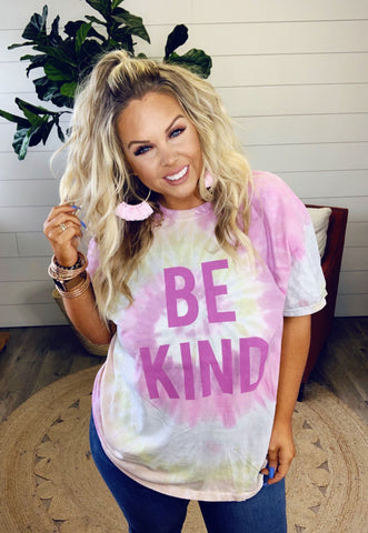 *SALE* Be Kind Tie Dye - Graphic T-Shirt