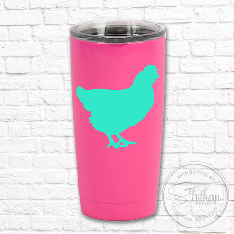 Solid Color Chicken Decal