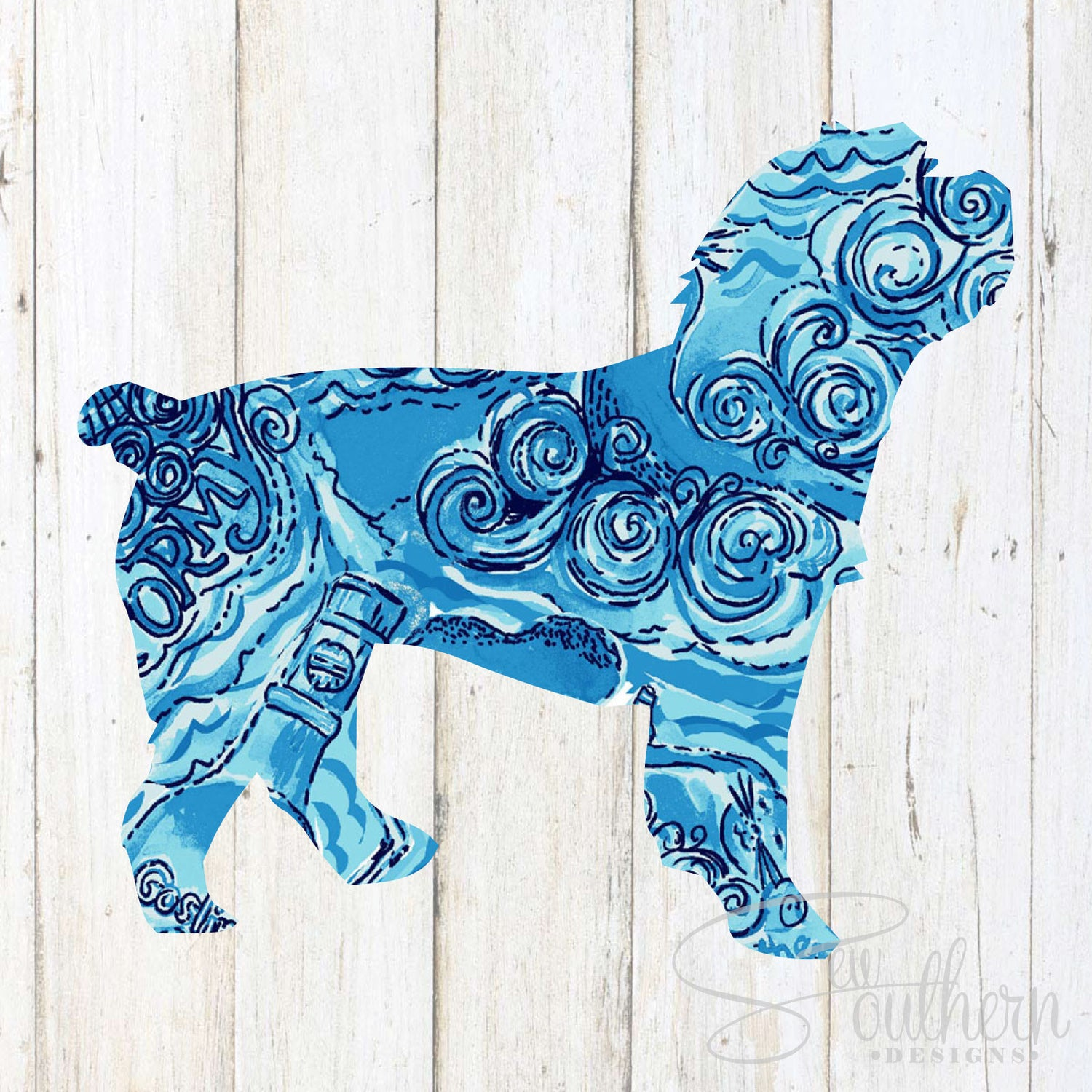 Lilly Cockapoo Decal