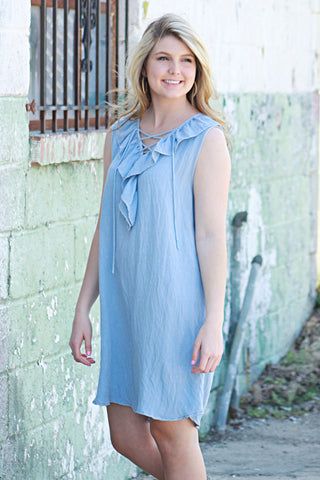Easy To Love Denim Dress