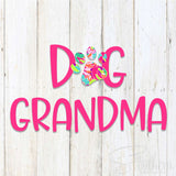 Lilly Dog Grandma Decal