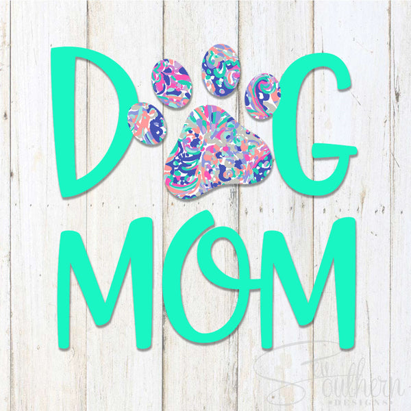cat lilly pulitzer monogram decal