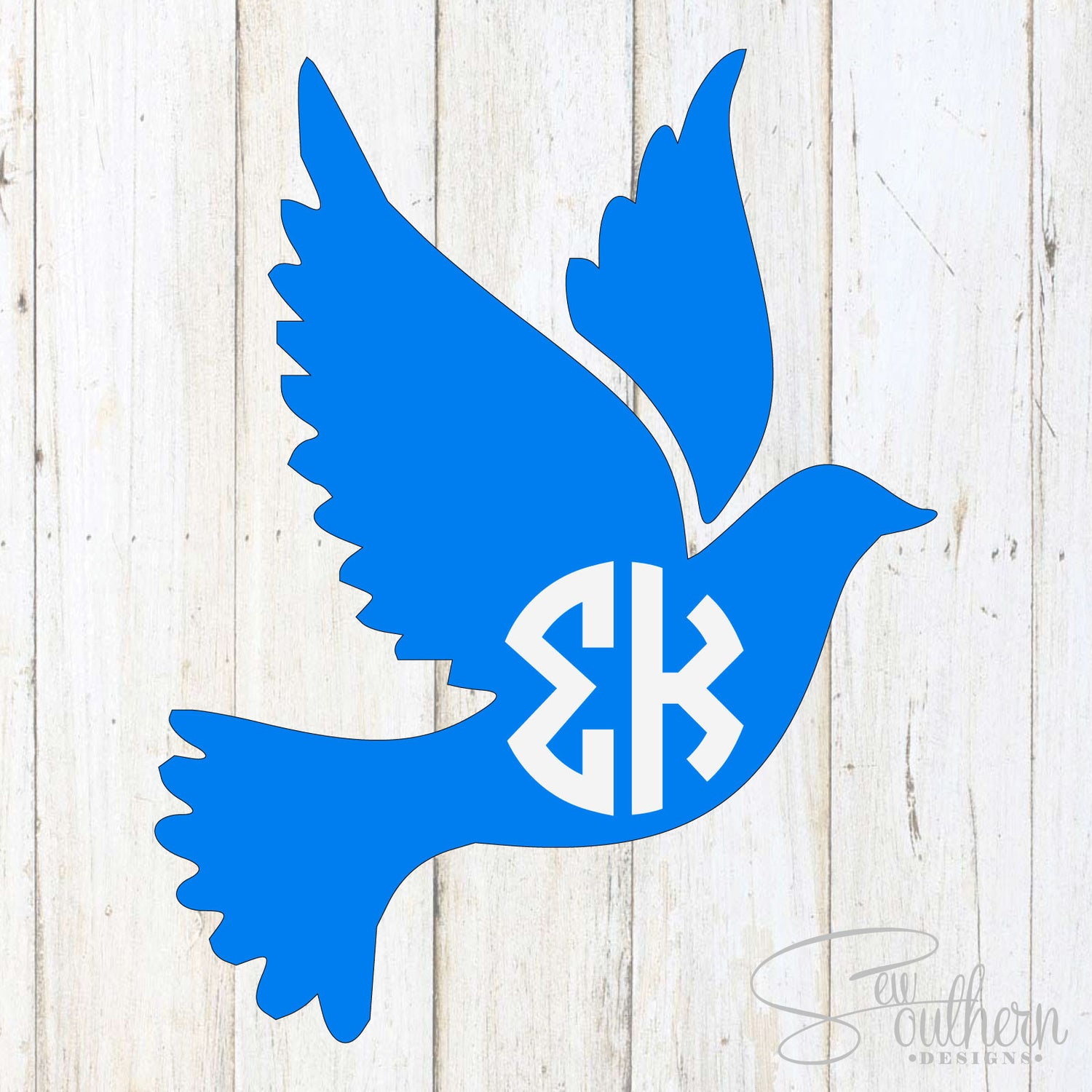 Greek Dove Decal