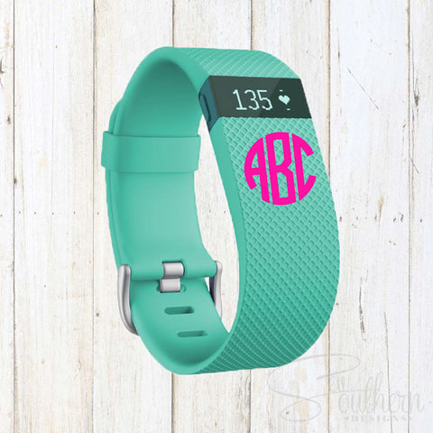 "Fitbit Set of Two .5"" Monograms"