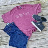 Talk Target To Me - Red - Graphic T-Shirt