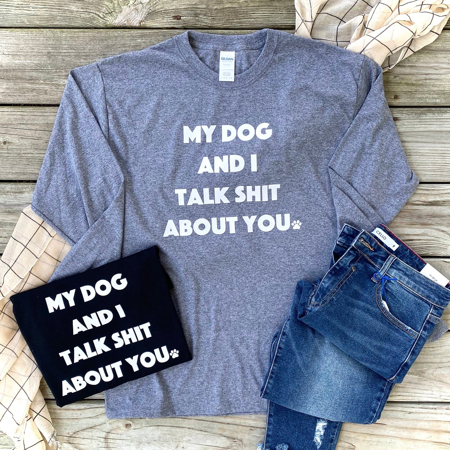 My Dog and I - Graphic T-Shirt