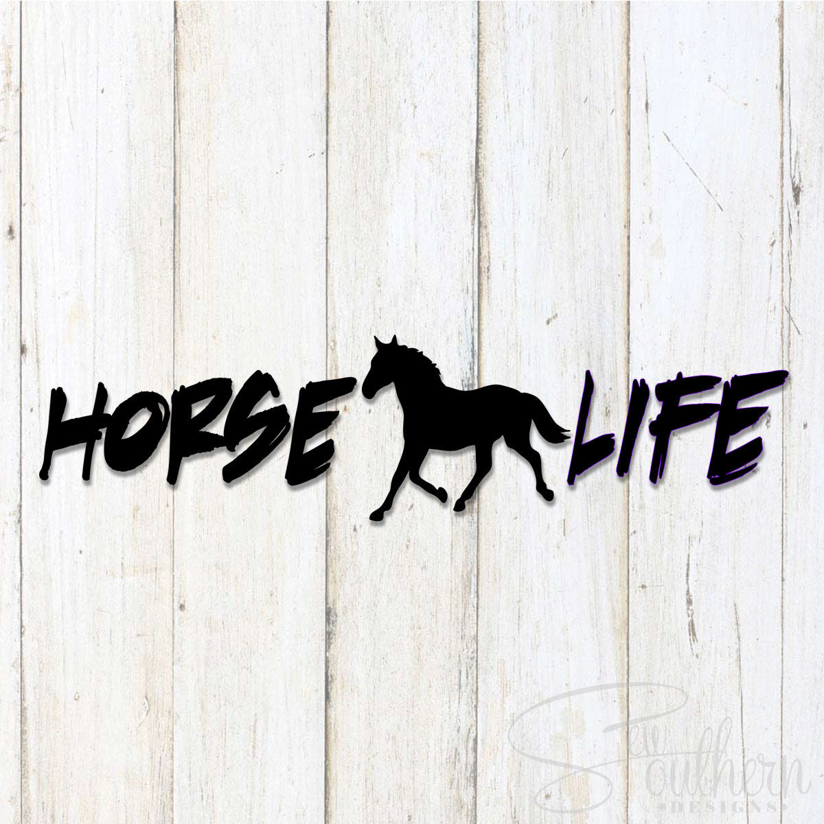 Horse Life Decal