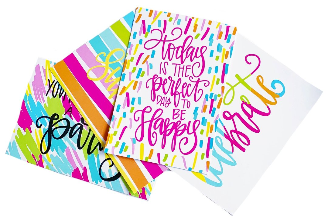 Happy Cards Postcard Set