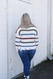 Once and for All Stripe Sweater - Top