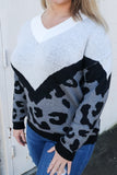 Deep in the Wild Leopard Sweater - Top