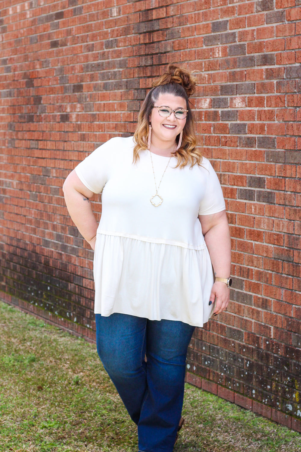 *SALE* Just Be Sweet Short Sleeve - Top
