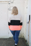 Bright Days Ahead Colorblock Sweater - Top