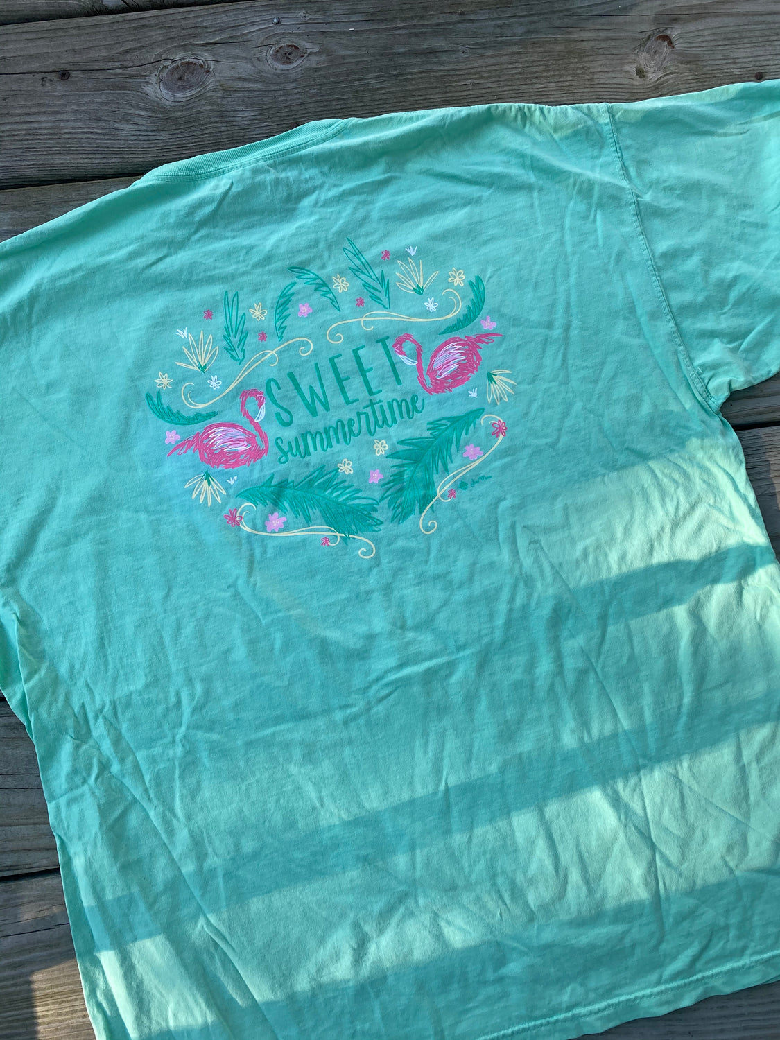 Sweet Summertime T-Shirt - Mint