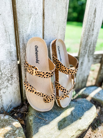 *SALE* Sandra Cheetah Sandals