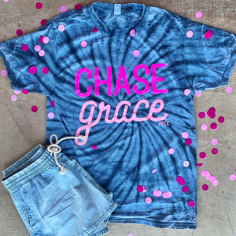 Chase Grace Tie Dye - Graphic T-Shirt