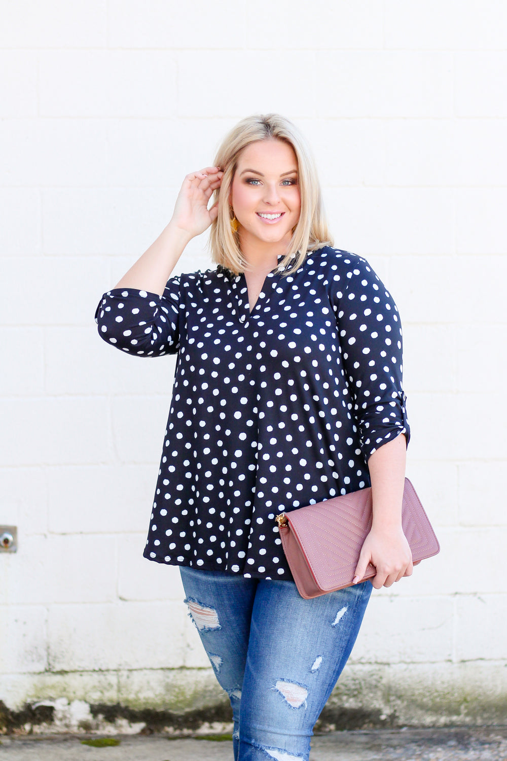 *SALE* This Is The Way Polka Dot Top