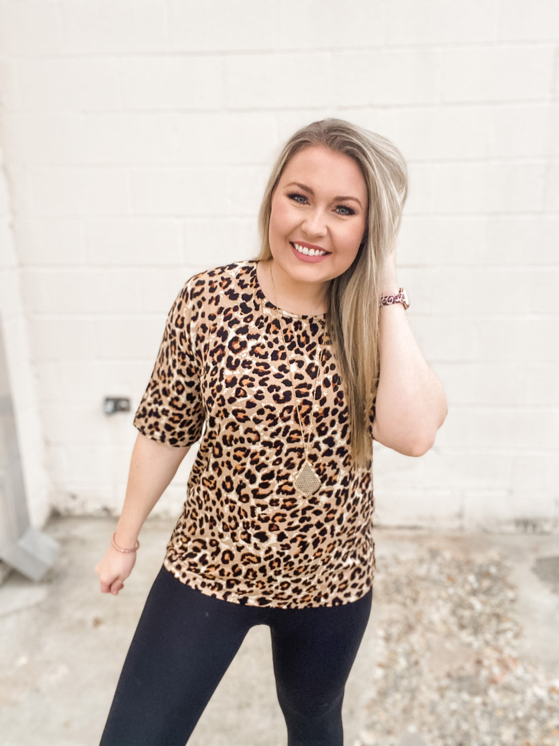 *SALE* In The Know Leopard Top