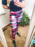 *SALE* Pink Camo Atheletic Leggings