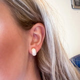 *DUPE* Stone Stud Earrings
