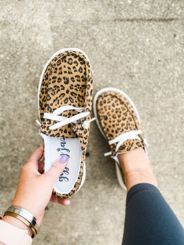 Gypsy Jazz Hooray Slip On - Leopard