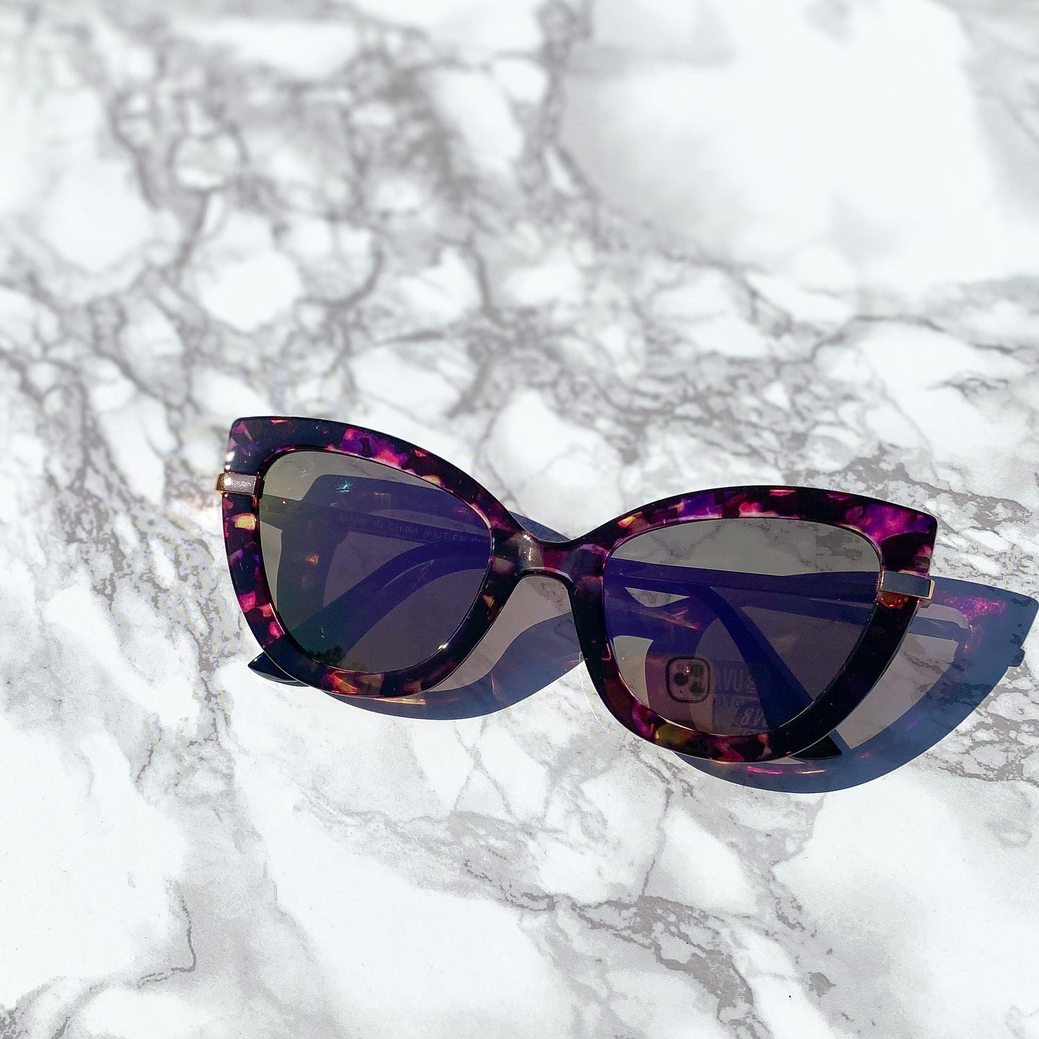 Edith Cat Eye Sunglasses