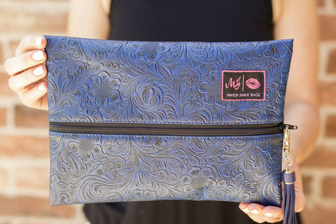 Makeup Junkie Bag - Indigo Nights
