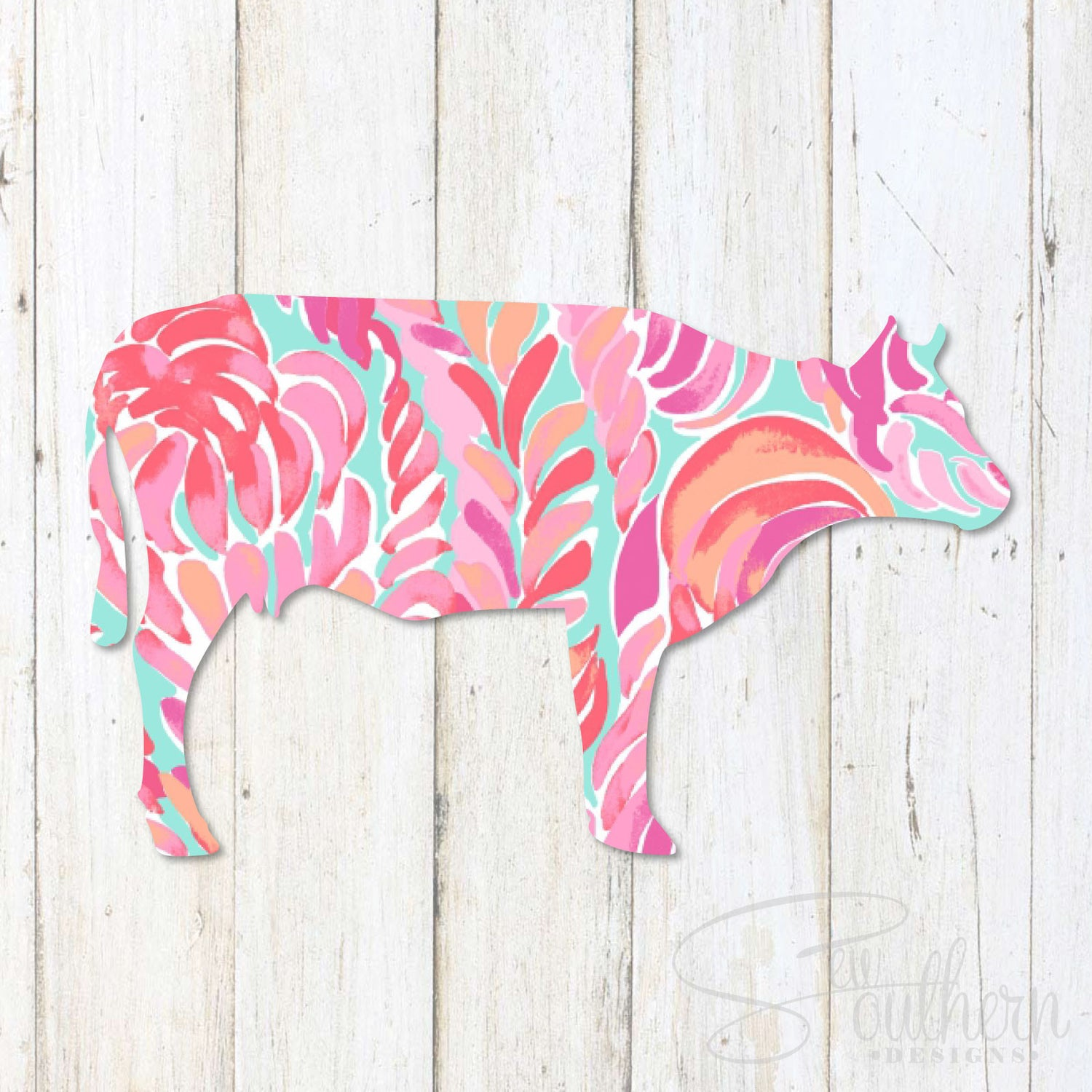 Lilly Cow Decal