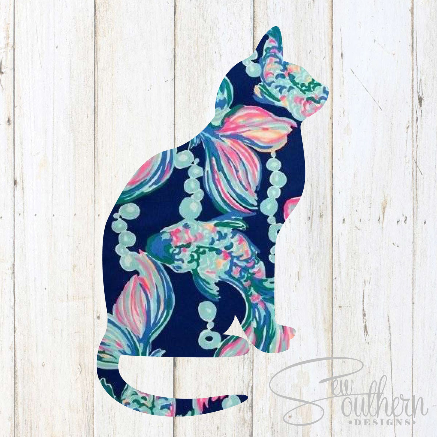 Lilly Cat Decal