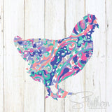 Lilly Chicken Decal