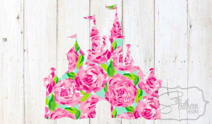 Lilly Disney Castle Decal