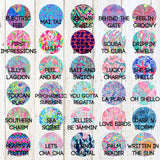 Lilly Pretty Enough To Stop Your Heart Decal
